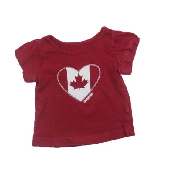 Canada T-Shirt, Size 3 Months